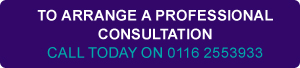 To arrange a professional consultation - call us today on 0116 255 39 33